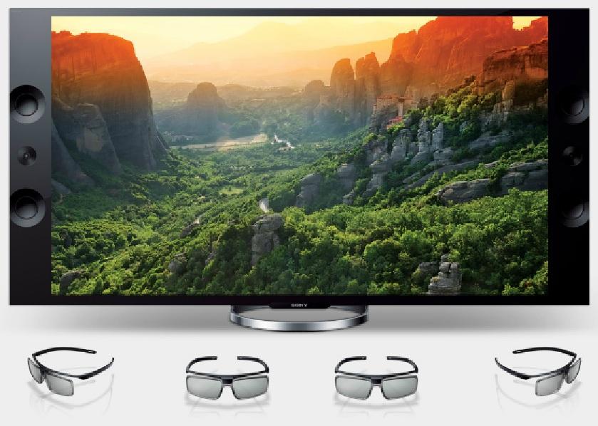 Bravia X9 3D TV