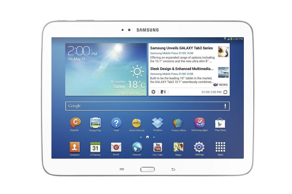 Galaxy Tab 3 10.1 inch Front