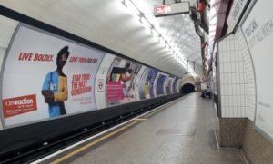 Tube WiFi - London Underground Platform