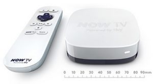New Sky Now TV box