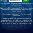 WeQ4U Android App - Home Screen