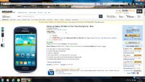 Buy Samsung Galaxy S3 Mini for £156.95 Amazon UK