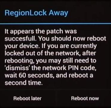 regionlock away