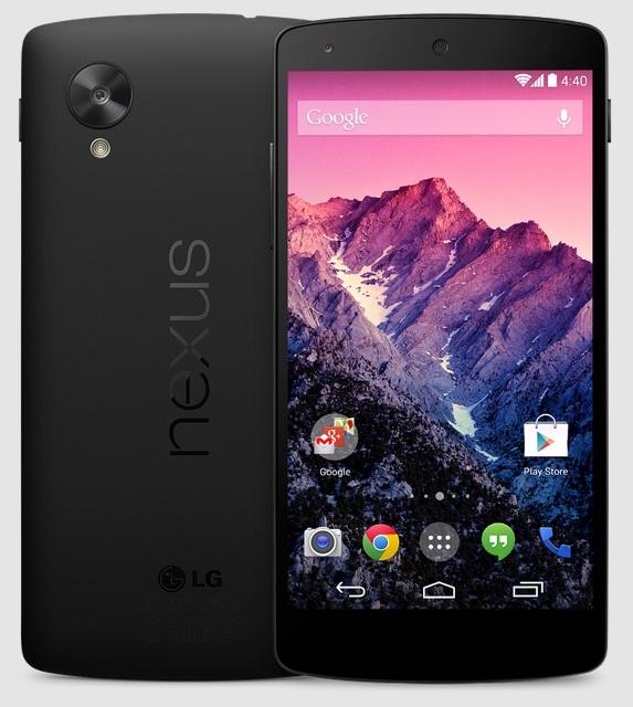 Nexus 5 - Google Play Image
