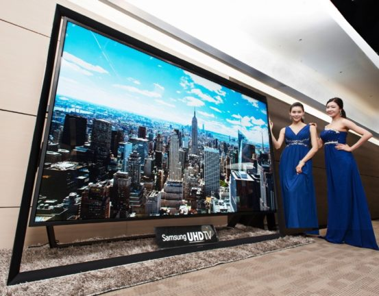Samsung 110 Inch TV 4K UHD - Launch