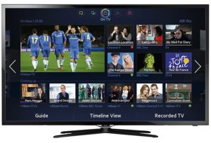 Samsung Smart TV - UE40F5500 - Front