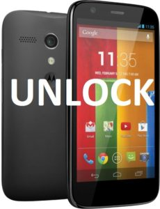 Unlock Moto G Mobile Phone