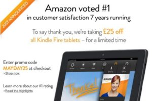 £25 off on all Kindle Fire tablet order