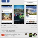 Facebook Android app on Google Play Store