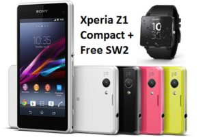 Xperia Z1 Compact Ready to Pre-Order with Free SW2 [UK]
