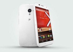 White Moto X