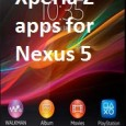 Xperia Z Apps for Nexus 5