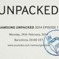 Samsung Unpacked 5 Event Invitation
