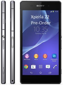 Sony Xperia Z2 Pre-Order, Price and Release Date from UK Retailers