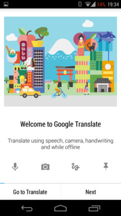 google translate android app download