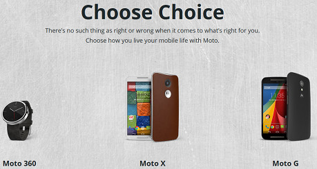 2nd Gen Moto X, Moto G and Moto 360