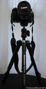 Manfrotto Befree Tripod with Canon 70D