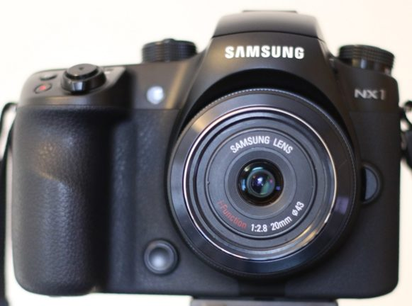 Samsung NX1 with 20mm Lens