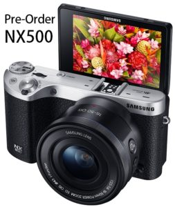 Pre-Order Samsung NX500 – 28MP Camera for $799.99