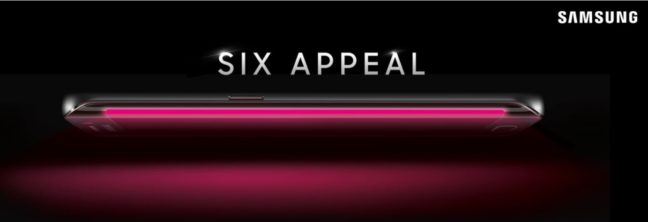 T-Mobile Galaxy S6 Edge Teaser