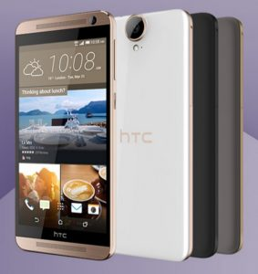 HTC One E9 Plus in different colors