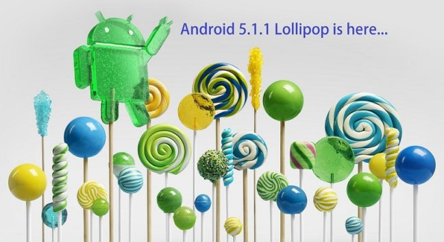 Android 5.1.1 Lollipop is here