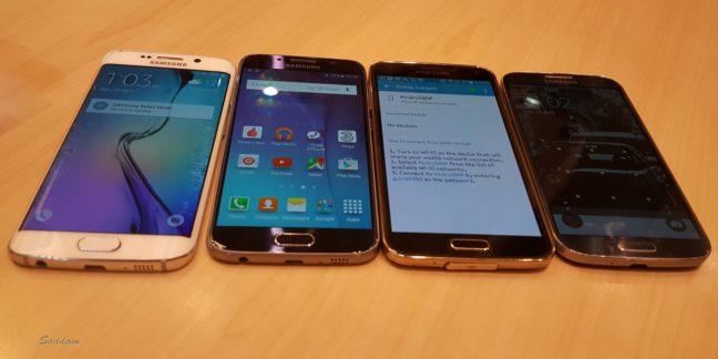 Samsung Phones - S6 Edge, S6, S5 and S4