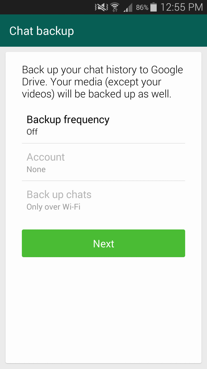 APK Download] WhatsApp v2 12 45 How to Backup Chats to