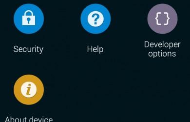 Developer options enabled