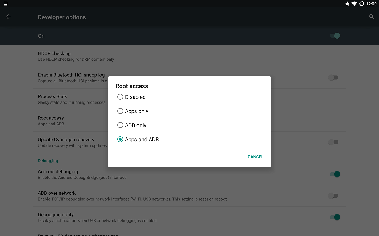 Install Android 5 0 2 Lollipop (CM-12 0) on Galaxy Tab Pro