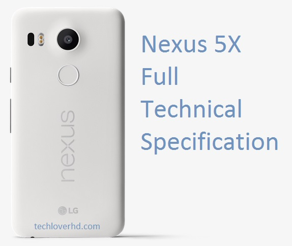 Nexus 5X Full Specs_Quartz color with text