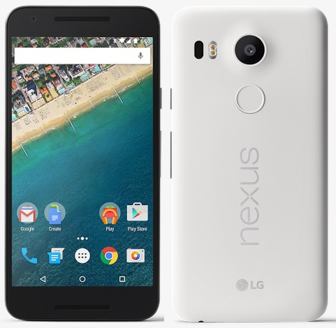Nexus 5X - Front and Back