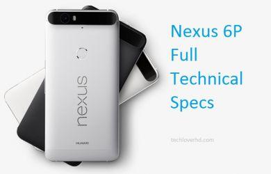 Nexus 6P Full Technical Details_TLHD