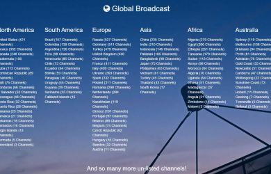 OfficialTVStream Global Channel List