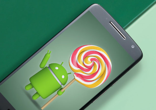 Motorola Moto X Play with Android Lollipop