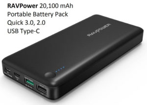 20100 mAh Quick Charge 3.0 USB Type-C Portable Battery Pack