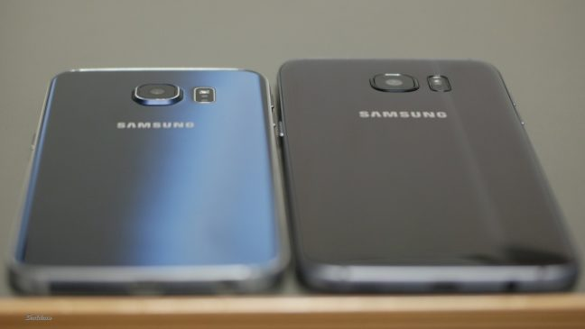 Samsung Galaxy S7 Edge and Galaxy S6 Edge Back