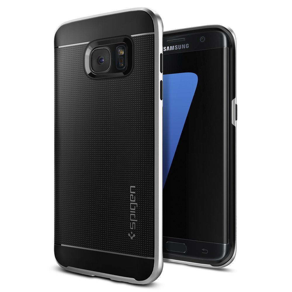 4 best samsung galaxy s7 edge cases by spigen techloverhd. Black Bedroom Furniture Sets. Home Design Ideas