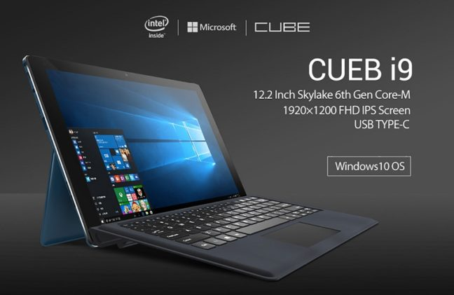 Cube i9 Windows 10 Tablet
