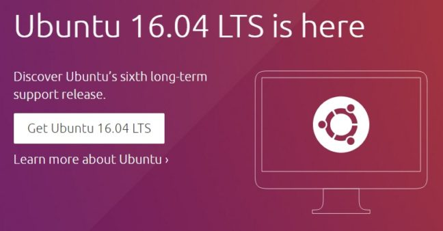 Ubuntu 16.04 LTS is here
