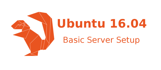 Ubuntu 16.04 Server Setup