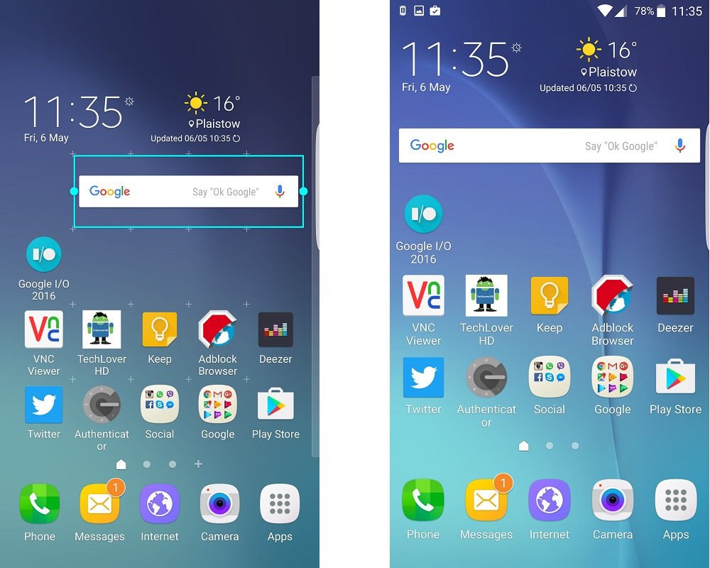 Here's A Quick Way To Make Icon Sizes Smaller On Galaxy S6