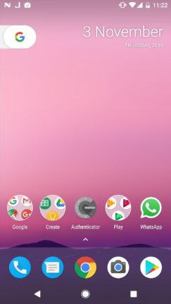 android-7-1-1-on-nexus-5x-home-screen