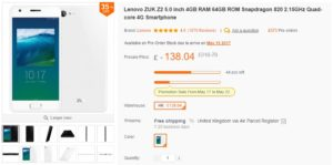 Lenovo ZUK Z2 – Lot of PHONE for the MONEY